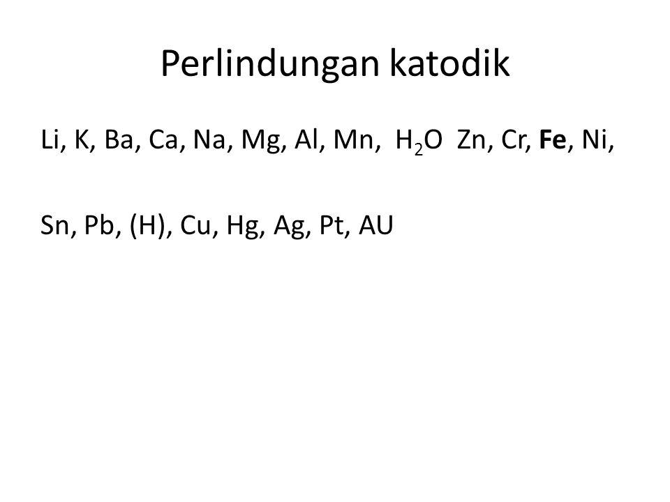 elektrolisis Proses elektrolisis merupakan reaksi redoks yang tidak spontan, Energi yang digunakan berasal dari arus listrik searah, jika arus sebesar 5 ampere dialirkan kedalam larutan ZnSO 4 dengan elektrode karbon selama 19 30 detik, maka massa zat yang terbentuk di katoda adalah….(ArZn= 65, 1F = 96500 C )