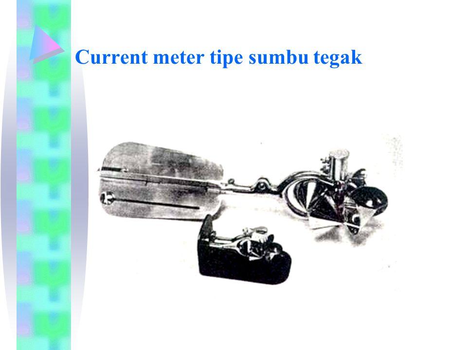 Current meter tipe sumbu tegak