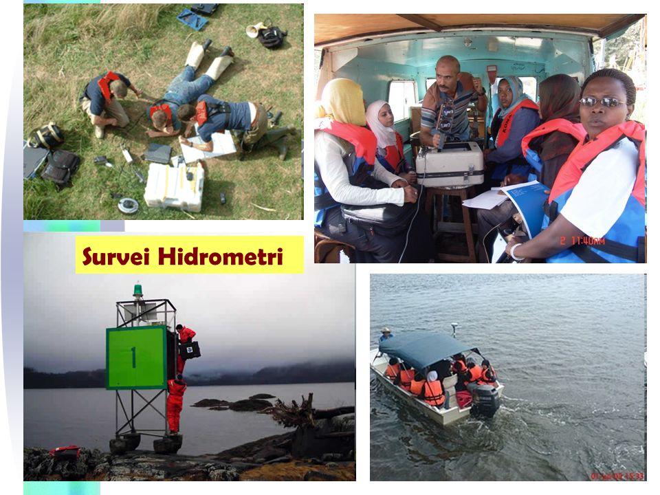 Secara umum cakupan kegiatan hidrometri dan kegunaan data hasil pengukuran hidrometri dapat ditunjukkan pada bagan seperti pada gambar.