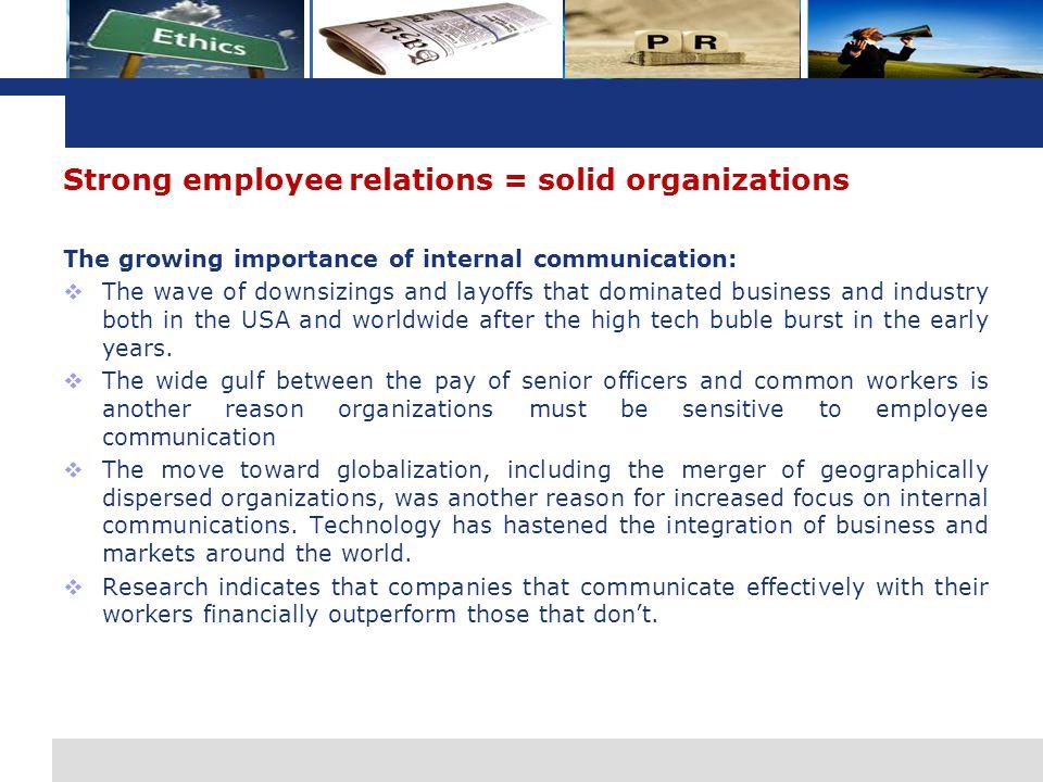 L o g o Mengapa Komunikasi Karyawan Penting.