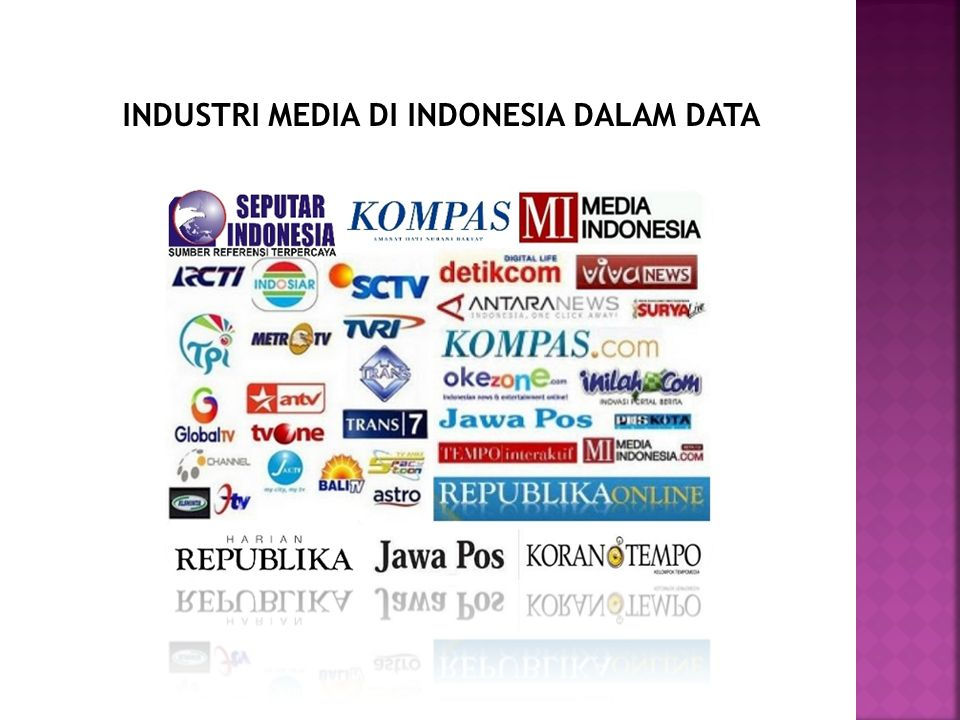 INDUSTRI MEDIA DI INDONESIA DALAM DATA