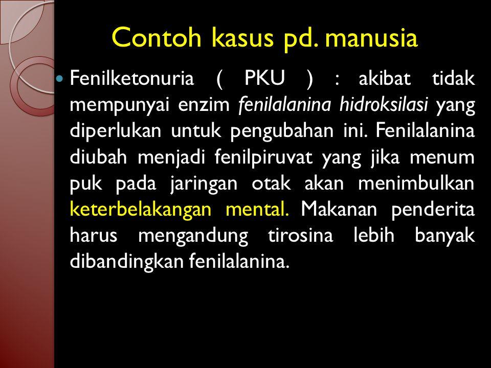 Asam amino esensial pd. manusia 1. Arginina ( arg ) 2. Histidina ( his ) 3. Isoleusina ( ile ) 4. Leusina ( leu ) 5. Lisina ( lys ) 6. Metionina ( met