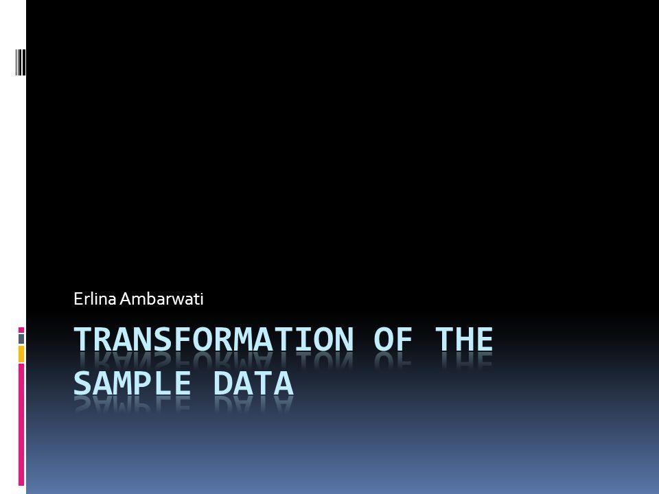 Prosedur Tukey bermanfaat  untuk pengujian aditivitas model  untuk mendapatkan transformasi yang sesuai  untuk mempelajari apakah transformasi telah menghasilkan aditif model 4/12/2015Erlina Ambarwati 2
