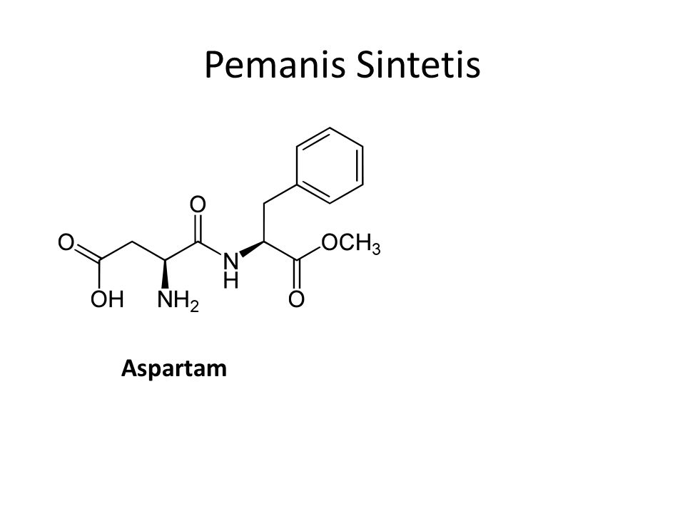 Pemanis Sintetis Aspartam
