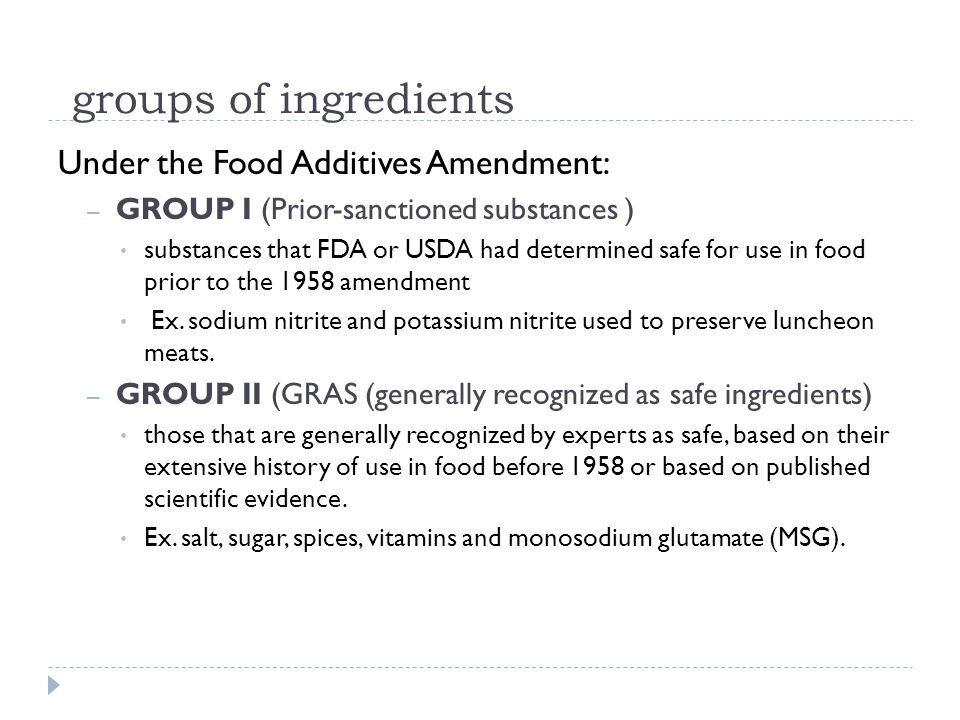 Food Additives Approved by the EU Food AdditiveFunctionFood CategoryMax.