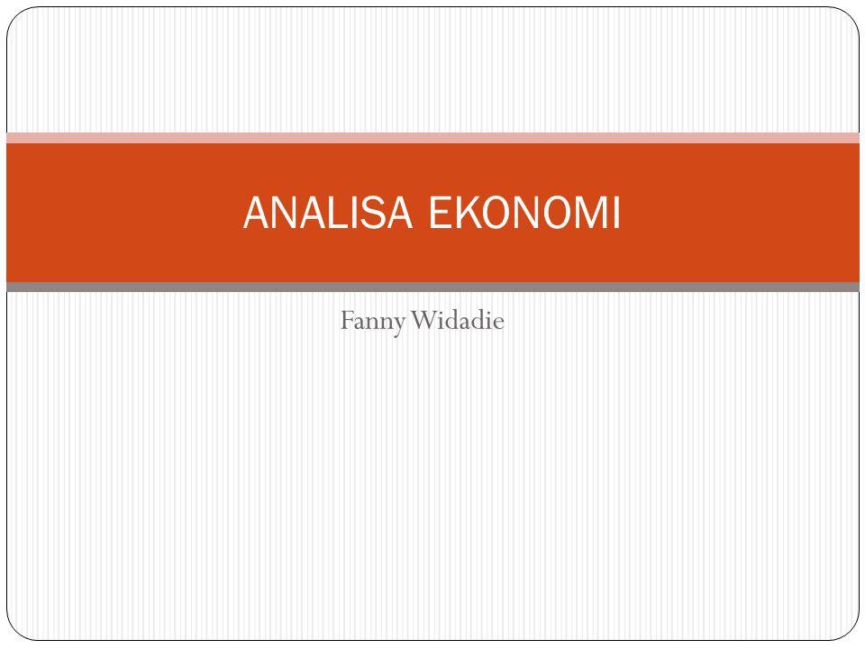 Fanny Widadie ANALISA EKONOMI