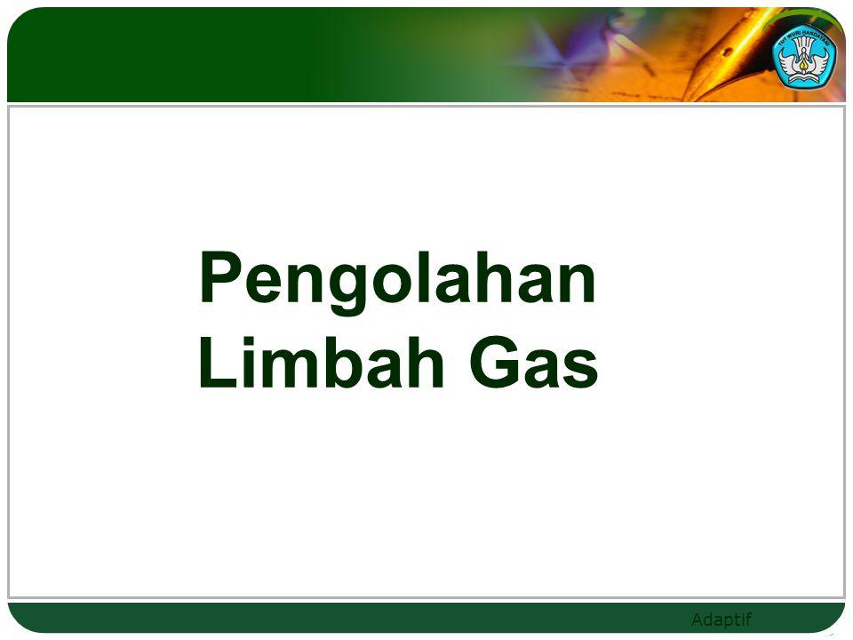 Adaptif Pengolahan Limbah Gas