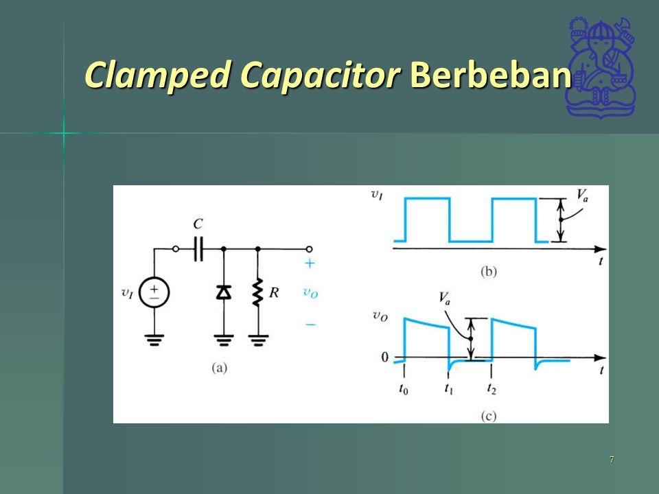 Clamped Capacitor Berbeban 7