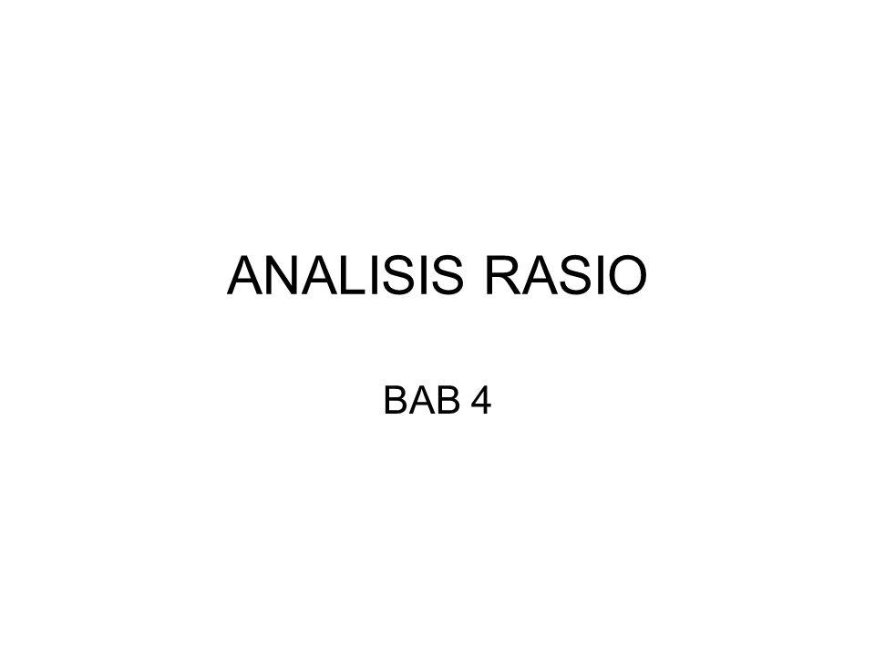 ANALISIS RASIO BAB 4