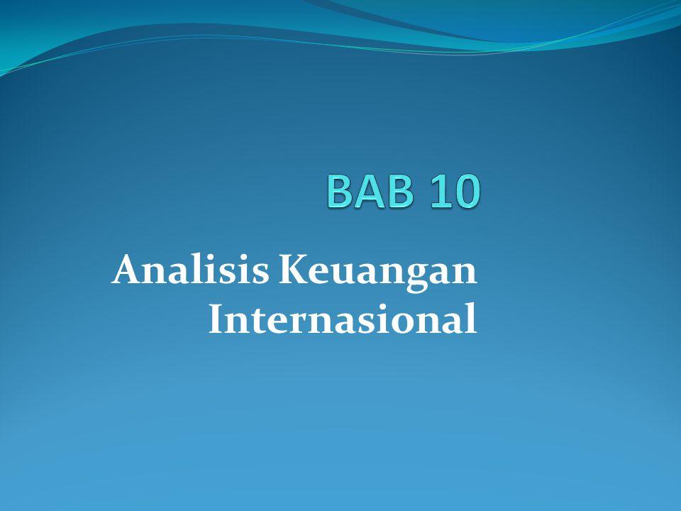 Analisis Keuangan Internasional