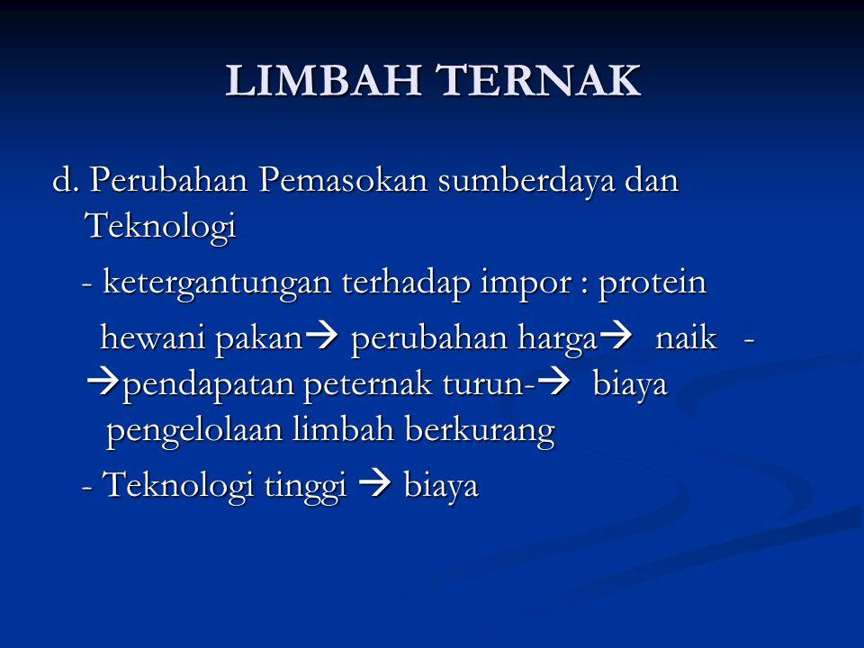 LIMBAH TERNAK d.