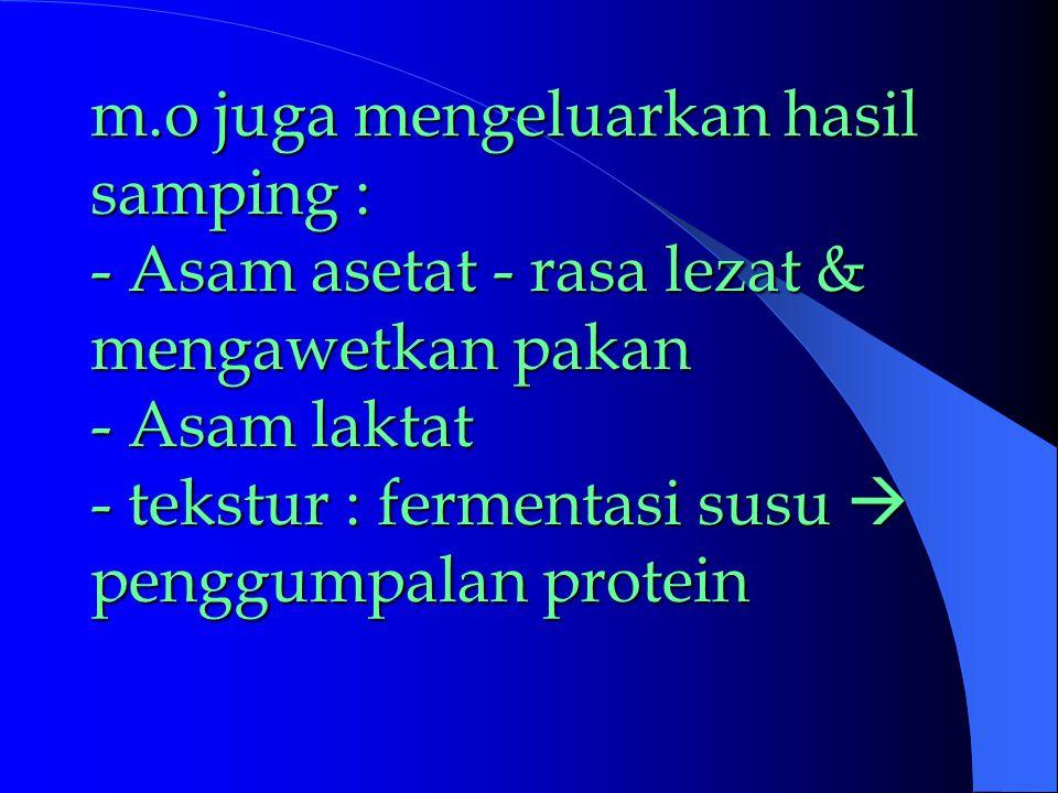M.O  ensim, intrasel & ekstrasel.Ensim -- protein komplek -- sebagai katalisator reaksi biokimia.