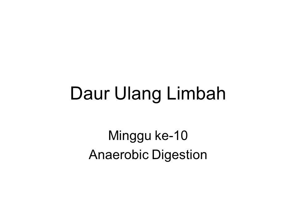 Daur Ulang Limbah Minggu ke-10 Anaerobic Digestion