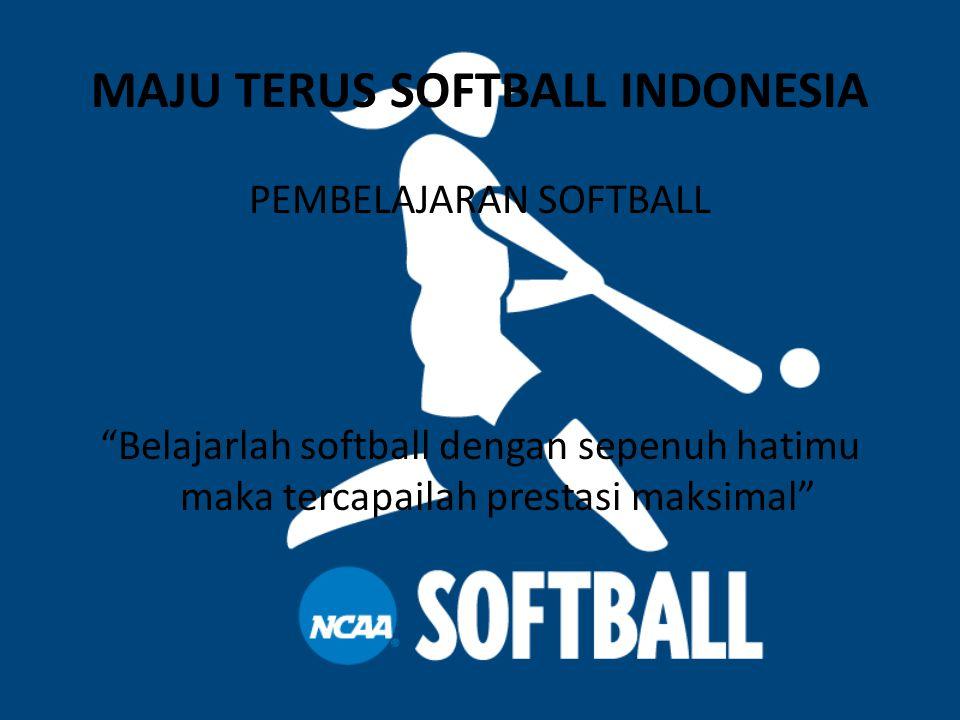 DAFTAR ISI  Tahap pembelajaran softball  Gambar posisi awal softball  Gambar saat stik berada di depan  Gambar saat memukul bola  Gambar akhiran  Lihat video