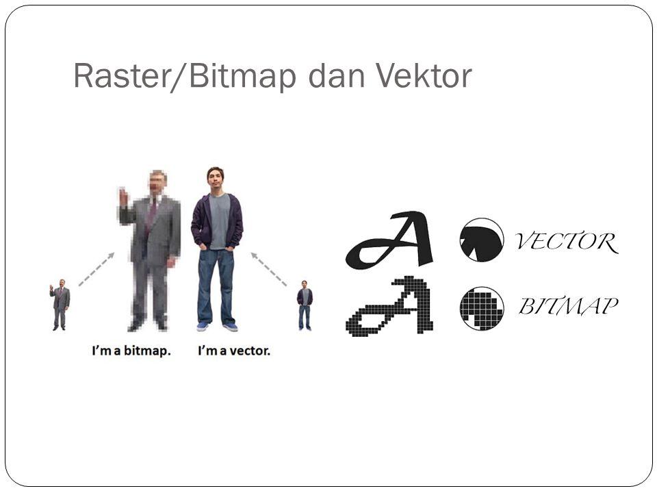 Raster/Bitmap dan Vektor