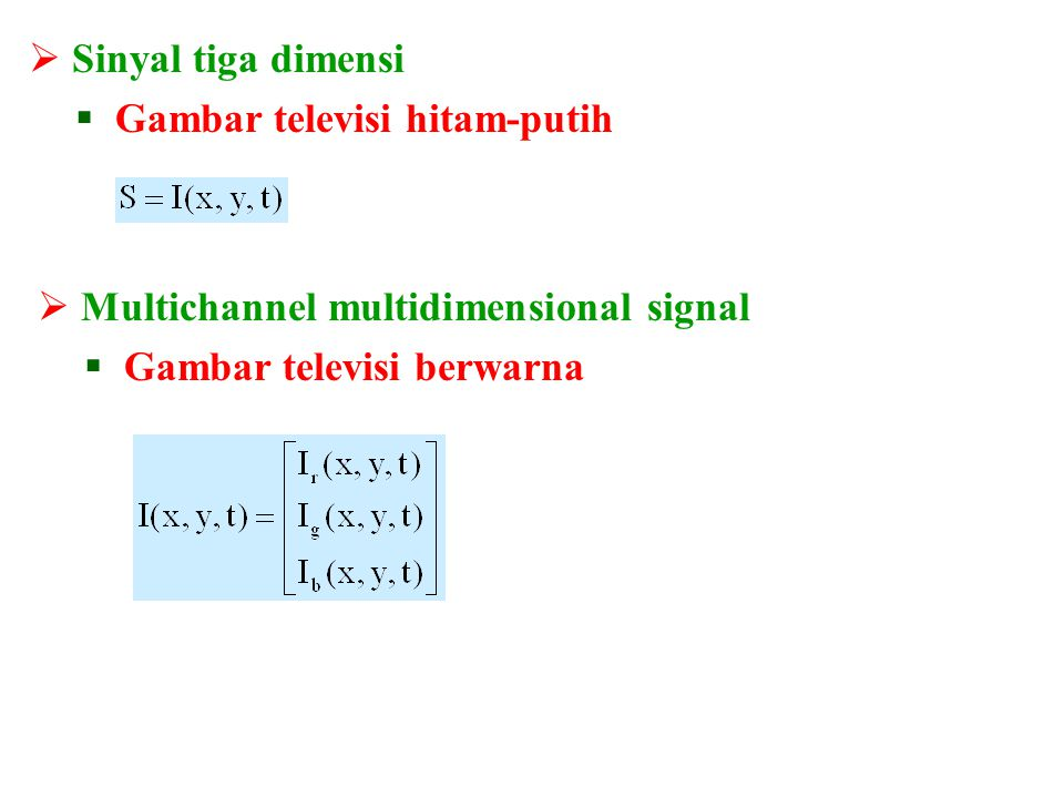  Sinyal waktu kontinu  Speech signal  Sinyal waktu diskrit  Hanya ada pada waktu-waktu tertentu saja 0,8 0,64