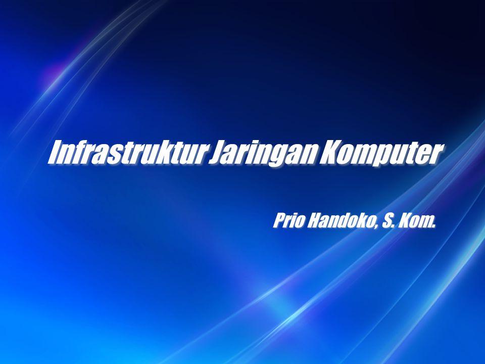 Infrastruktur Jaringan Komputer Prio Handoko, S. Kom.