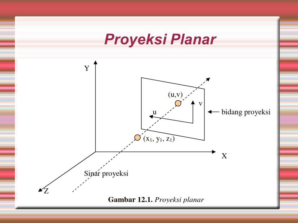 Proyeksi Planar