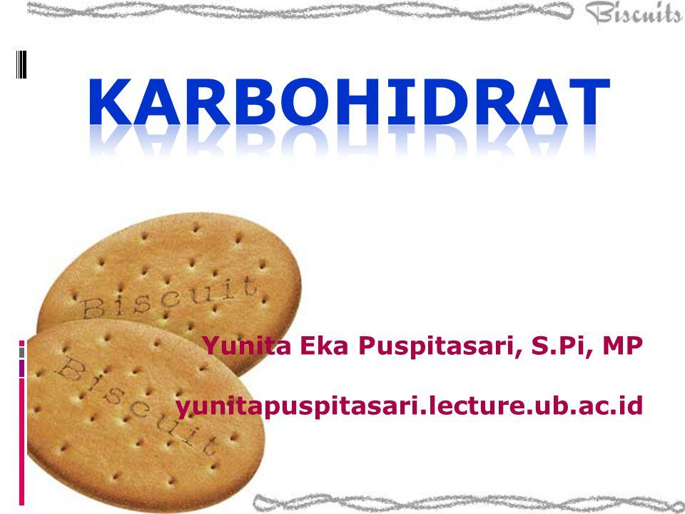 Karbohidrat  Derivat aldehida atau keton dari alkohol polihidrik (lebih dari satu gugus OH) atau sebagai senyawa yang menghasilkan derivat-derivat ini pada hidrolisis