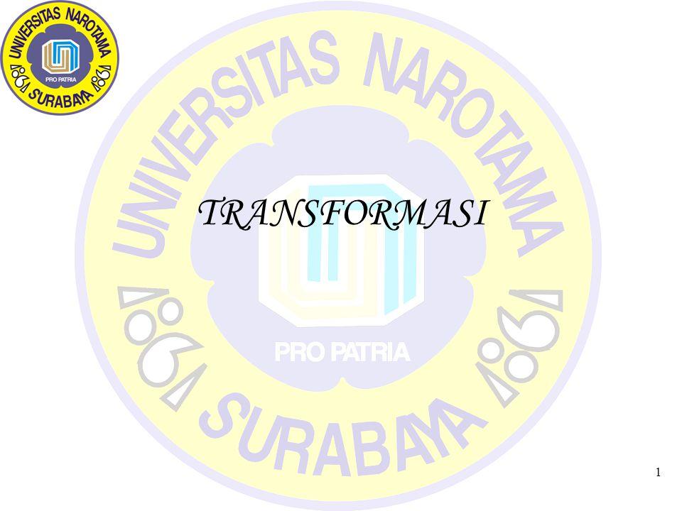 1 TRANSFORMASI