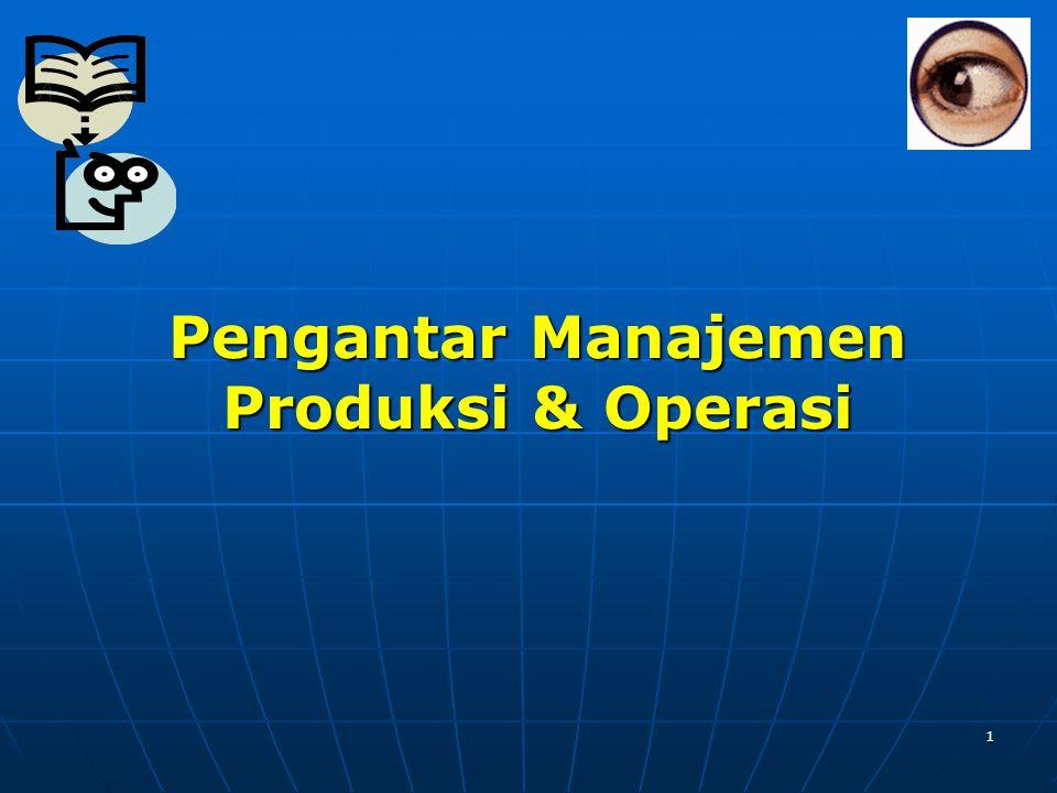 1 Pengantar Manajemen Produksi & Operasi