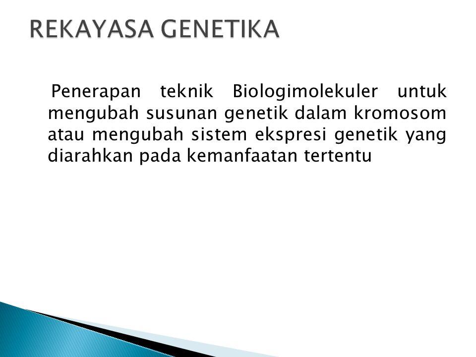  Gena merupakan komponen operasional pembawa informasi genetik.