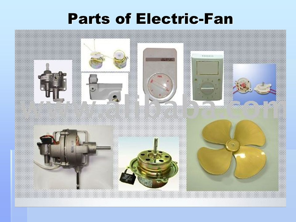 Parts of Electric-Fan