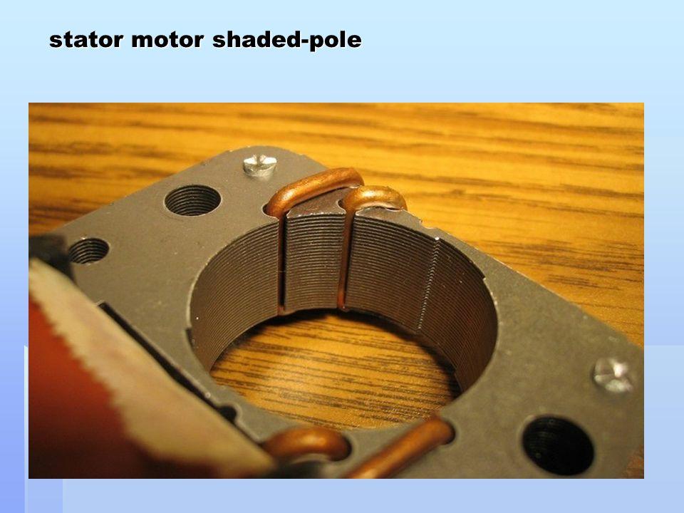 stator motor shaded-pole stator motor shaded-pole