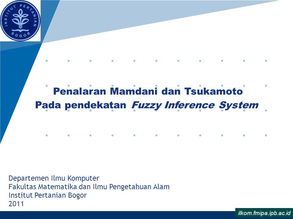 Aturan (Rule) Berikut ini adalah aturan-aturan yang digunakan dalam Fuzzy Inference System (FIS) 1.