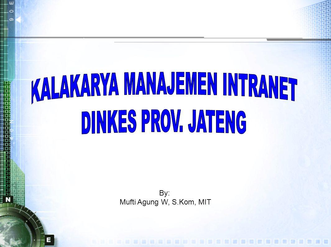 By: Mufti Agung W, S.Kom, MIT