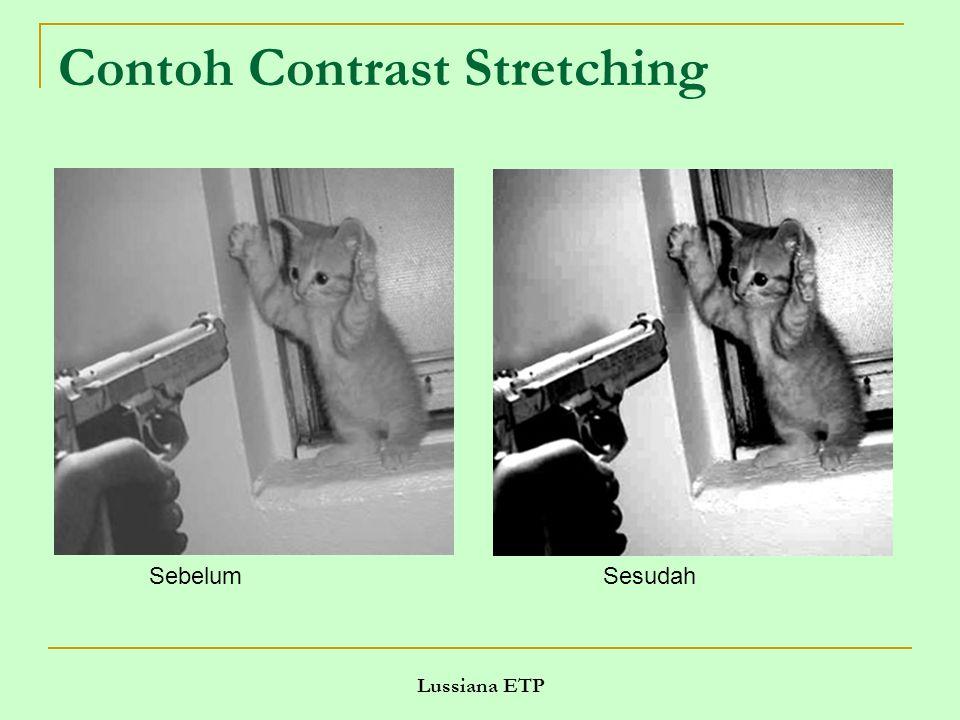 Lussiana ETP Contoh Contrast Stretching SebelumSesudah