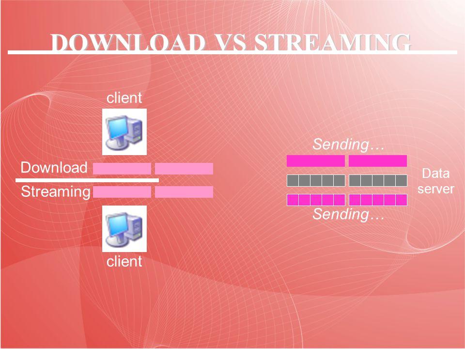 Streaming adalah sebuah teknologi untuk memaninkan file video atau audio secara langsung ataupun dengan pre-recorder dari sebuah mesin server (web server).