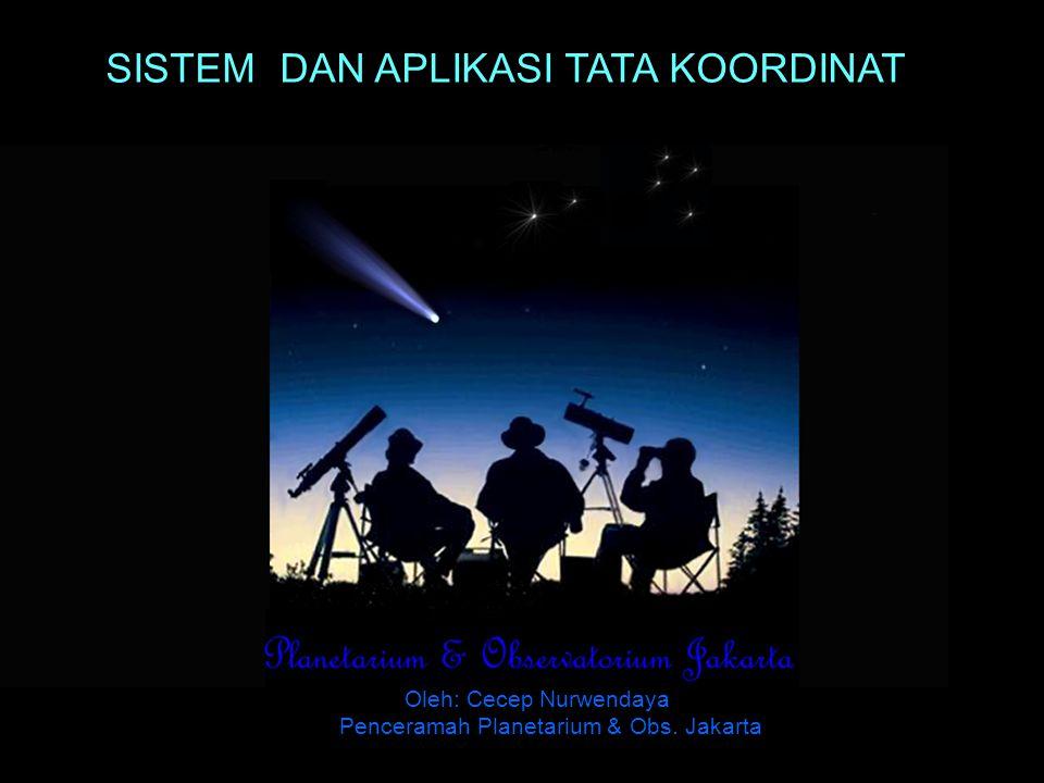 JAKARTA 09 Juli 2006 PESERTA WORKSHOP ASTRONOMI 09 JULI 2006 HIMPUNAN ASTRONOMI JAKARTA SELAMAT DATANG SELAMAT DATANG DI PLANETARIUM & OBSERVATORIUM JAKARTA DINAS DIKMENTI PROP.