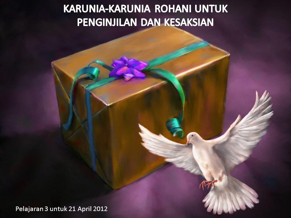 Pelajaran 3 untuk 21 April 2012