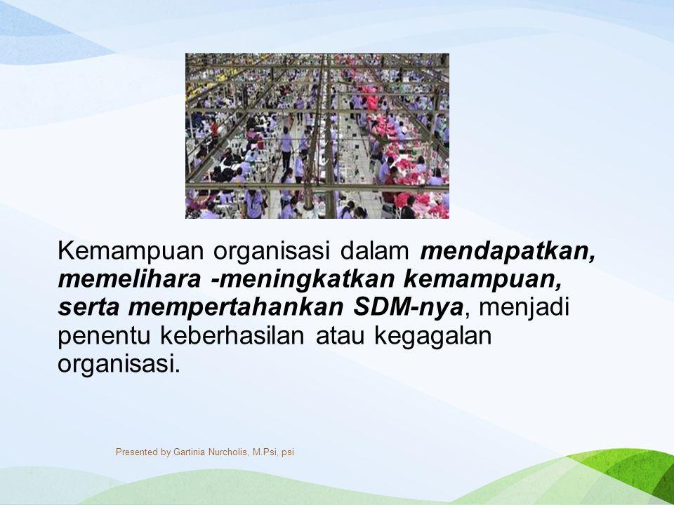 MSDM, adalah suatu ilmu atau cara bagaimana mengatur sumber daya yang dimiliki oleh individu dapat digunakan secara maksimal sehingga tujuan ( goal ) menjadi maksimal.