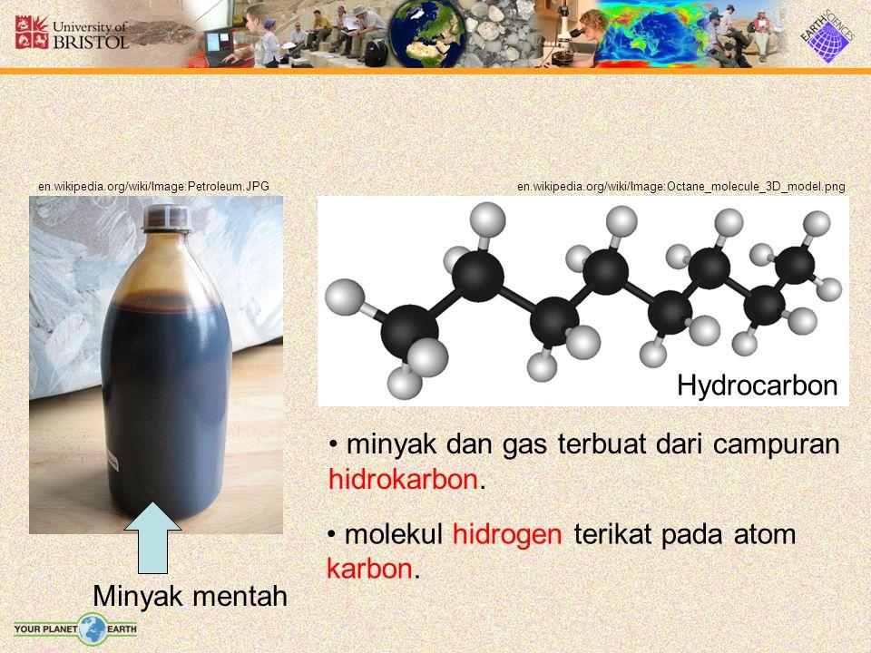 Komposisi berdasar berat Unsurpersentase karbon83 to 85% Hidrogen10 to 14% Nitrogen0.1 to 2% Oksigen0.05 to 1.5% Sulfur0.05 to 6.0% Logam< 0.1%