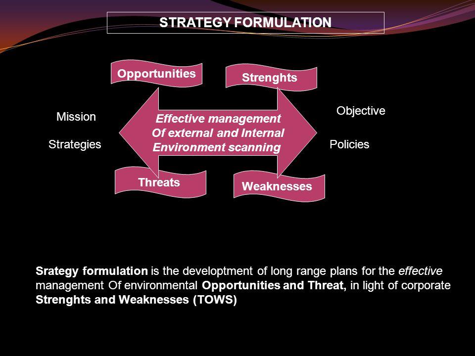SIFAT STRATEGI Menyatu (unified) : menyatukan seluruh bagian-bagian dalam organisasi.