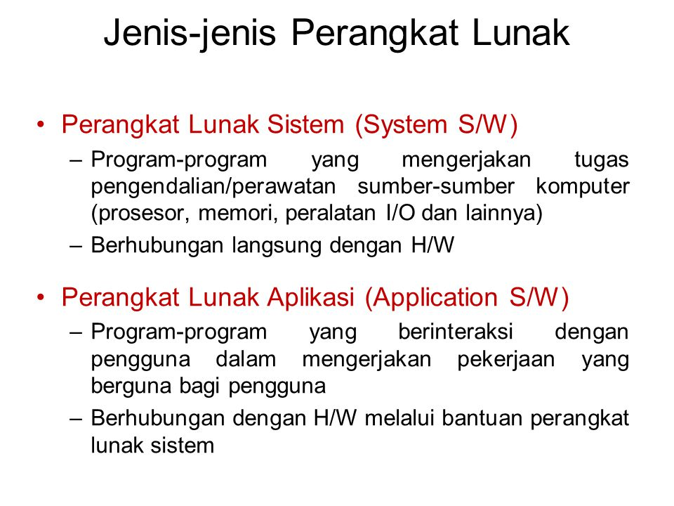 Hardware Operating System Utility Language Translator Device Driver Scientific Apps.