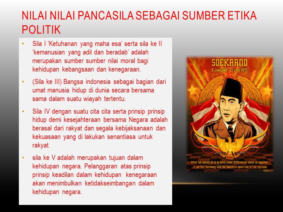 MAKNA NILAI NILAI DARI PANCASILA  Ketuhanan yang maha esa mengandung pengertian kepercayaan dan keyakinan dari bangsa indonesia tentang adanya tuhan yang maha esa.