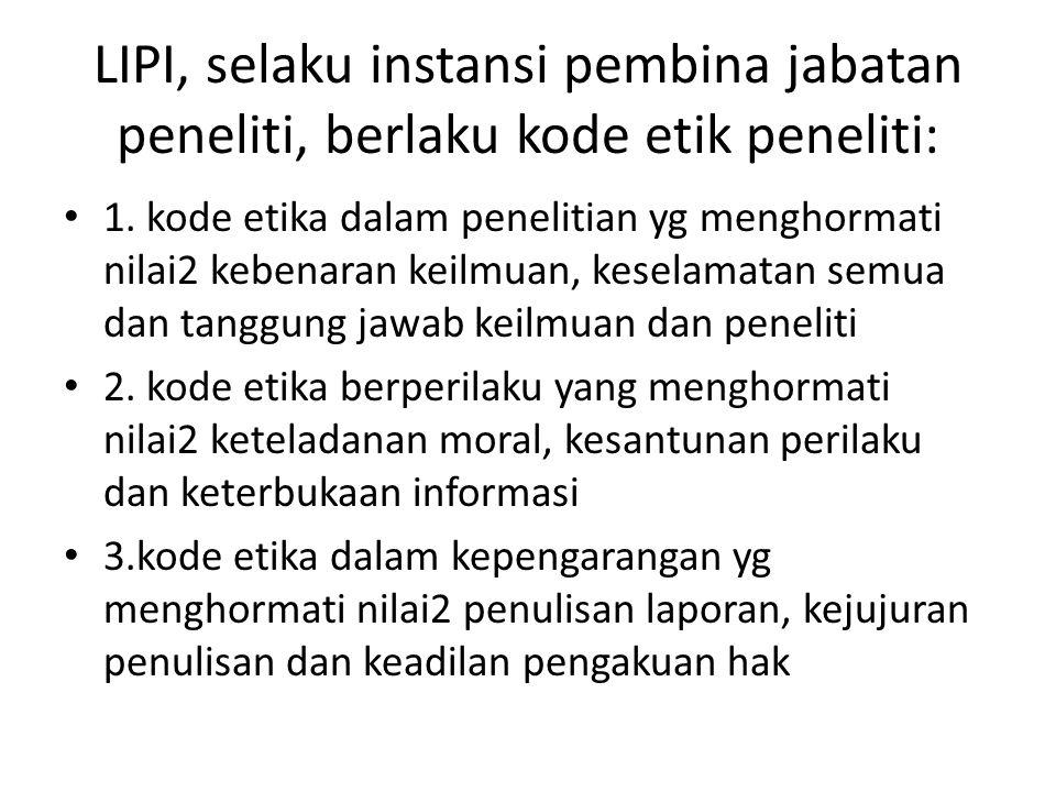 Referensi 1.Imron, B. dan Endang Sukara (2011): Peningkatan Profesionalisme Peneliti.