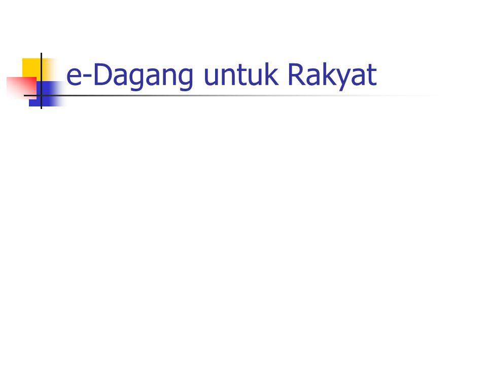 Pembatas.. Kecil persentase user IT vs. rakyat. Tingkat pendidikan secara umum sangat rendah – reformasi sistem pendidikan di Indonesia.