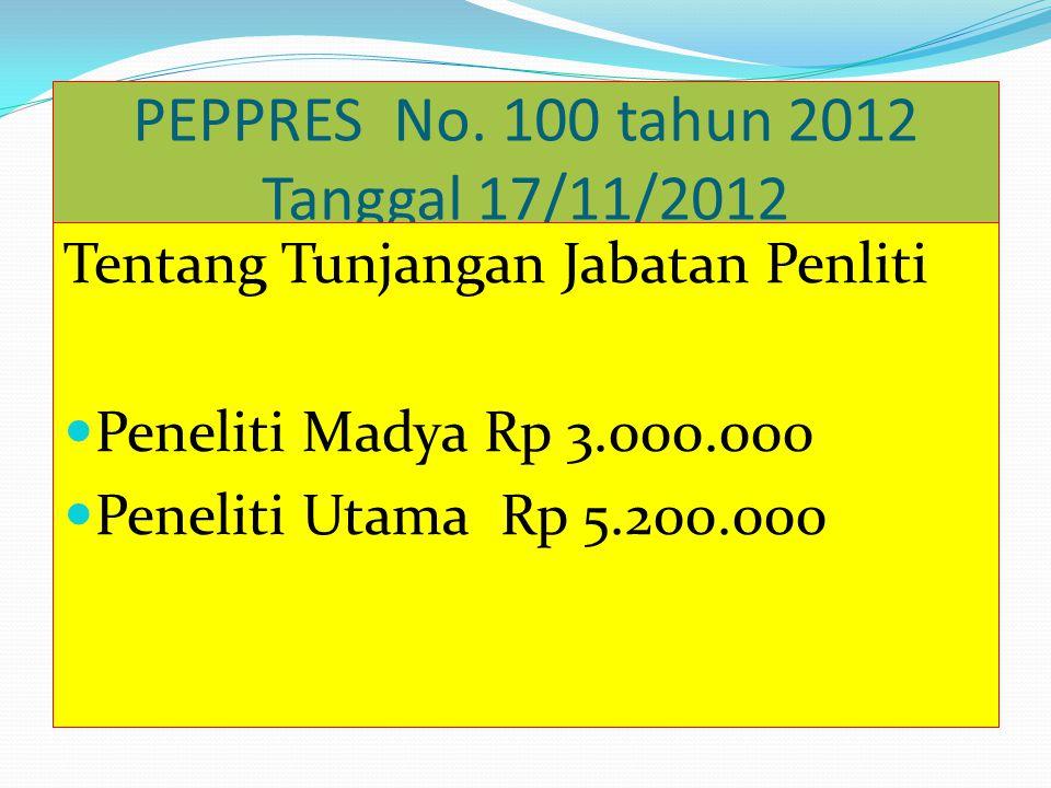 PERMENPAN 14 Tahun 2009 Tanggal : 25/9/2009 Tentang Jabatan Fungsional Widya Iswara Syarat2 pengangkatan PNS dari jabatan lain kedalam jabatan Widya I