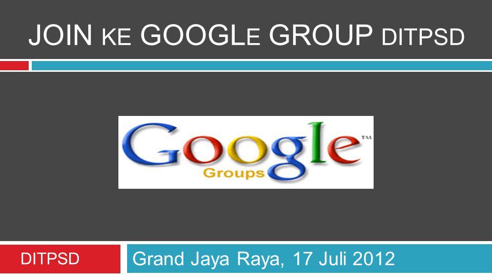 Silahkan login ke gmail www.gmail.com
