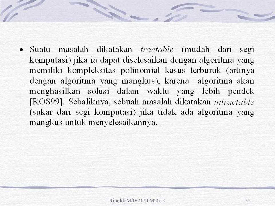 Rinaldi M/IF2151 Matdis52