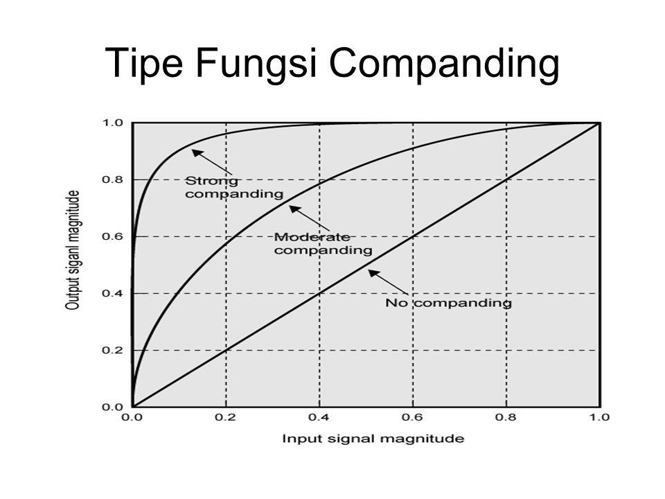 Tipe Fungsi Companding