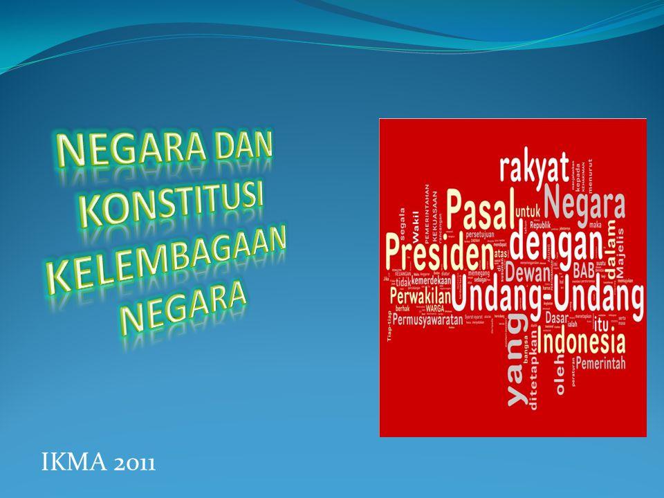 Hubungan Konstitusi-Negara- Warganegara