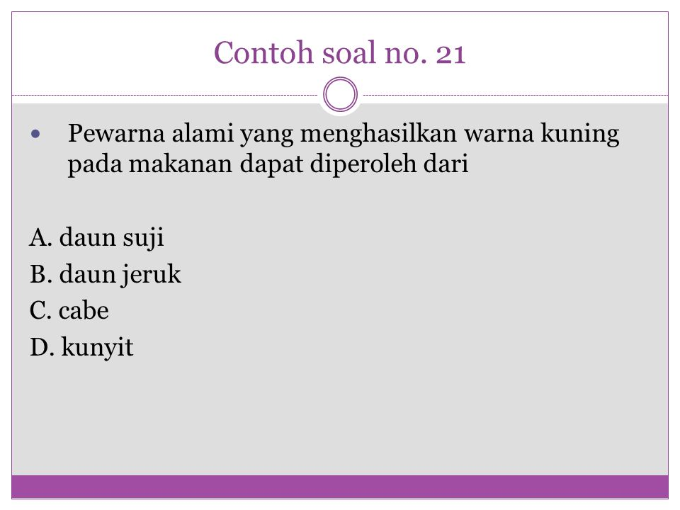 Contoh soal no.34 Perhatikan gambar penampang melintang daun di bawah ini .