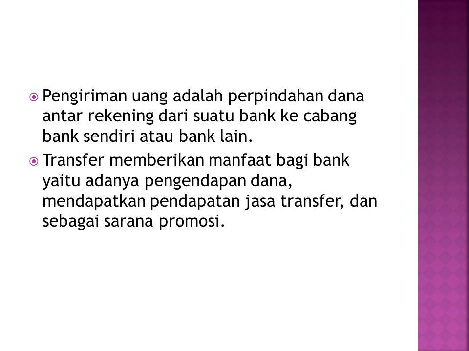  Jawaban contoh 2 (oleh Bank Musi Jkt):  RAK Cabang Palembang Rp 300 jt  Giro BIRp 300jt