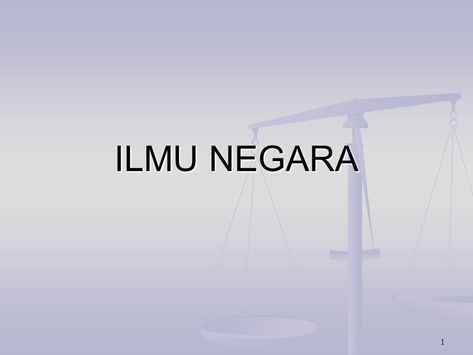 1 ILMU NEGARA