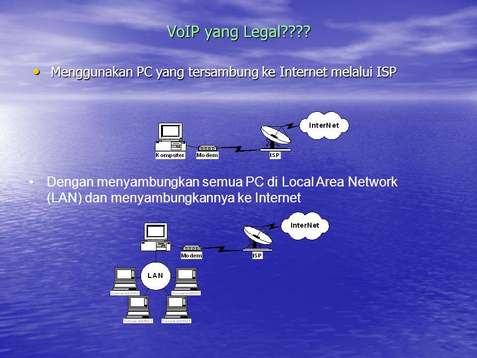 VoIP yang Legal???.